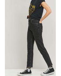 BDG Acid Washed Black Mom Jeans