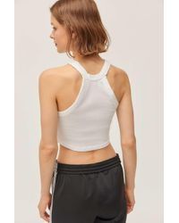 Truly Madly Deeply Multicolor High-neck Cropped Tank Top