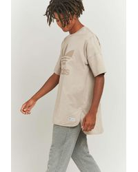 Adidas Originals Natural Bldr Freizeit Vapour Grey T-shirt for men