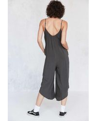 Silence + Noise Gray Winona Oversized Jumpsuit - Womens Xs
