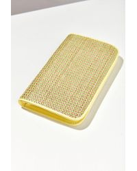 Urban Outfitters - Yellow Bi-fold Envelope Wallet - Lyst