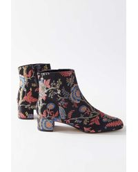 Urban Outfitters Multicolor Uo Elle Brocade Boot