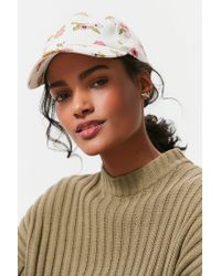 Urban Outfitters - Multicolor Printed Cotton Canvas Baseball Hat - Lyst