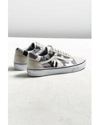Vans - White Vans Old Skool Arctic Camo Sneaker for Men - Lyst