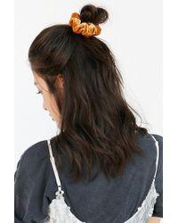 Urban Outfitters - Multicolor Velvet Hair Scrunchie Set - Lyst