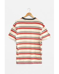 Tommy Hilfiger Natural Striped Yarn Dye T-shirt for men