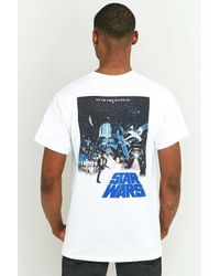 Urban Outfitters Star Wars White T-shirt for men