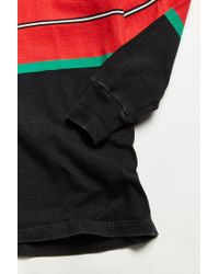 Urban Outfitters Black Vintage Barbarian Whistler Rugby Shirt for men