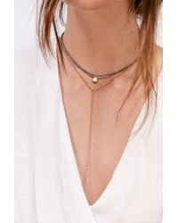 Urban Outfitters - Metallic Maya Beaded Layering Necklace Set - Lyst