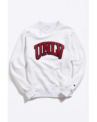 Champion Multicolor Champion Uo Exclusive University Of Nevada, Las Vegas Inside Out Crew-neck Sweatshirt for men