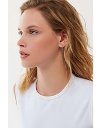 Urban Outfitters Multicolor Ava Cable Chain Drop Earring