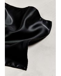 Urban Outfitters Black Uo Solid Pocket Square
