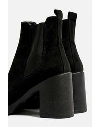 Urban Outfitters Black Uo Blayne Chelsea Boot