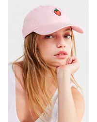 Urban Outfitters - Pink Icon Baseball Hat - Lyst