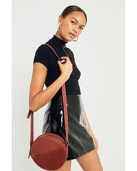 Urban Outfitters Brown Small Round Cross Body