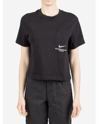 Nike Black T-shirt Sportswear Swoosh