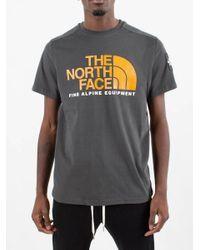 T-shirt Fine Alp Tee 2 di The North Face in Gray da Uomo