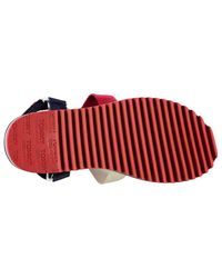Tommy Hilfiger Multicolor Strap Mens Sandals for men