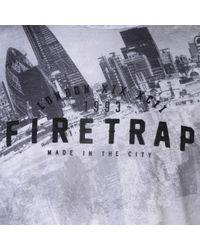 Firetrap Multicolor Sub T Shirt Mens for men
