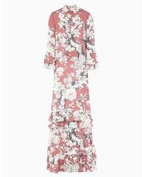 Valentino | Multicolor Floral Vintage Dress | Lyst