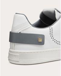 Sneakers Backnet De Piel De Becerro Valentino Garavani de hombre de color White