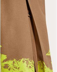 Valentino Mantel Mit Time Traveller Print in Multicolor für Herren