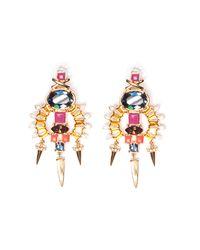 Lizzie Fortunato | Multicolor City Landscape Earrings | Lyst