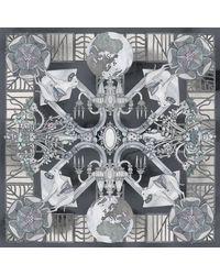 Swash London - Metallic Tudor House Fringe Scarf - Lyst