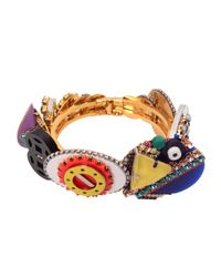 Erickson Beamon | Metallic Memphis Bracelet | Lyst