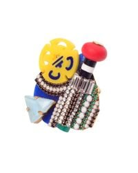Erickson Beamon | Multicolor Memphis Ring | Lyst