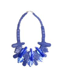 EK Thongprasert | Techophilaea Blue Necklace | Lyst