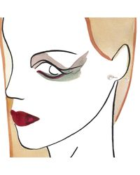 Maria Stern | Metallic Single Bar Earring | Lyst
