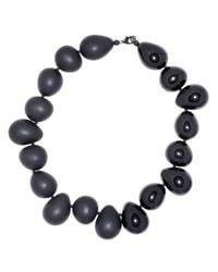 FLorian | Black Pebble Necklace | Lyst