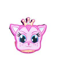 Sprayground Pink Queen Kitty Clutch
