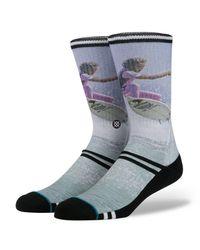 Stance Gray Fletcher Socks for men