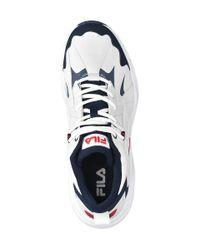 Fila Witte Sneaker in het Blue voor heren