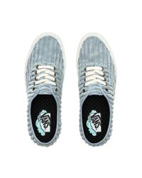 Vans Gray Jumbo Cord Comfycush Authentic Schuhe