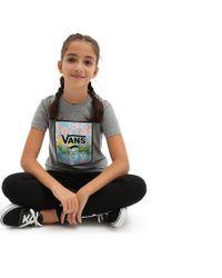 Vans Gray Mädchen Skull Box T-shirt
