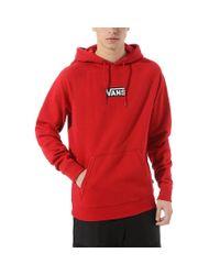 Sweat À Capuche Versa Standard Vans pour homme en coloris Red