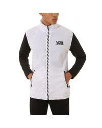 Vans Winner's Circle Trainingsjacke Mit Reißverschluss in White für Herren