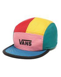 Vans Multicolor Patchy Kappe