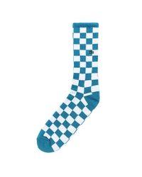Vans Checkerboard Ii Crew-socken in Blue für Herren