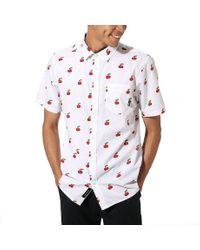 Chemise Cherries Vans pour homme en coloris Blanc - Lyst