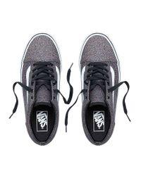 Chaussures Glitter Old Skool Vans pour homme en coloris Black