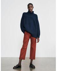 Varana Cable Sweater - Blue