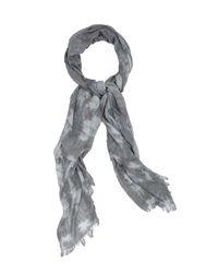 Velvet By Graham & Spencer Gray Chloe Tie Dye Scarf
