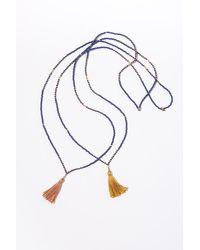 Velvet By Graham & Spencer - Desert Blue Necklace By Ild - Lyst