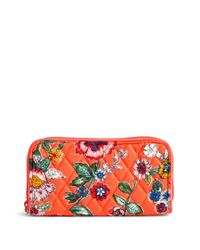 Vera Bradley Multicolor Rfid Georgia Wallet