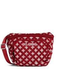 Vera Bradley Red Collegiate Belt Bag