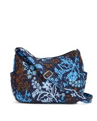 Vera Bradley - Blue On The Go Crossbody - Lyst